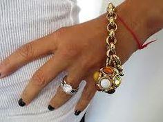 A Chanel charm bracelet