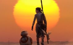 Rey BB-8 and the Sunset - The Force Awakens Better resolution. #Followme #CooliPhone6Case on #Twitter #Facebook #Google #Instagram #LinkedIn #Blogger #Tumblr #Youtube