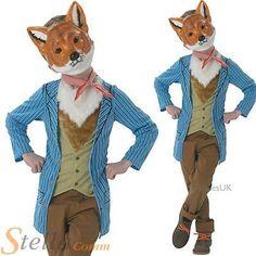 Boys Fantastic Mr Fox Costume Book Day Week Fancy Dress Child Outfit    Boysu0027 Fancy Dress   Fancy Dress