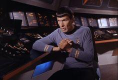 Star trek TOS S1E12 la conscience du roi / Spock anxieux, même si cela n'est pas très Vulcain : il s'agit de Jim