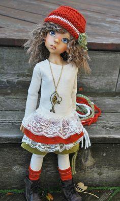 fall1 | Flickr : partage de photos !  - doll by Kaye Wiggs