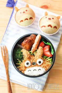 Mothers Prepare Creative Bento Lunches For Her Kids Every Day