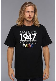 Lrg L-R-G The Great Escape of 1947 Tee on shopstyle.com