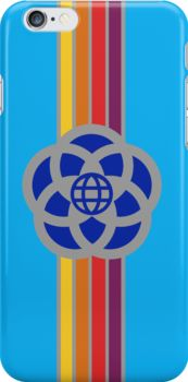 Old Epcot Logo iPhone Case by Madison Bailey