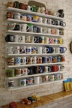you display your mug collection like a work of art.