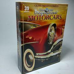 Magnificent Motorcars Collector's Edition 39 Episodes 3 DVD Set w/ 20 Car Photos Ben Casey, Dvd Set, Episode 3, Car Photos, The Collector, Alan Alda, Season 3, Ebay, Movies