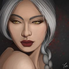Manon Blackbeak by taeray. Heir of Fire. Queen of Shadows. Empire of Storms. Sarah J Maas