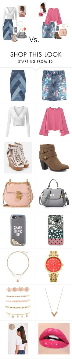 """""""#41"""" by catherinewhitehill ❤ liked on Polyvore featuring BCBGMAXAZRIA, Topshop, MANGO, JustFab, Chloé, Kate Spade, Marc Jacobs, Charlotte Russe and Louis Vuitton"""
