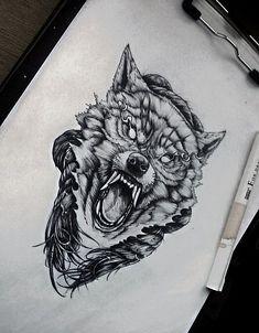 Sketches of future tattoos sketches of tattoos tetovanie, te Wolf Tattoos, Black Ink Tattoos, Celtic Tattoos, Viking Tattoos, Skull Tattoos, Leg Tattoos, Tatoos, Wolf Tattoo Design, Sketch Tattoo Design