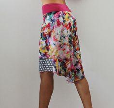 Tango skirt Milonga dance wear Salsa party от CrinolinAtelier