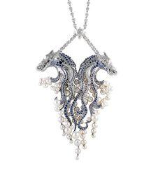 Van Cleef & Arpels - Chevaux de Neptune necklace by Van Cleef & Arpels, via Flickr