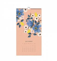 2015 Les Fleurs Wall Calendar
