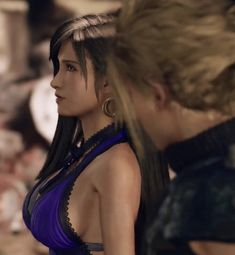 Final Fantasy Chronicles, Tifa Final Fantasy, Final Fantasy Girls, Final Fantasy Cloud, Final Fantasy Artwork, Final Fantasy Characters, Final Fantasy Vii Remake, Fantasy Art Women, Fantasy Series