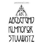 Image result for drawing art deco lettering