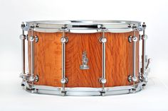 14 x 8 BRADY Sheoak Block snare drum (Natural satin finish).