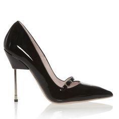 Kurt Geiger heels, little things make this essential black heel PERFECT. found via Glamour