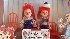 Kelly and Tommy Raggedy Ann n Andy set NRFB by Blissfulcollectables on Etsy