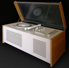 Braun Sk61 record player, Minimalist