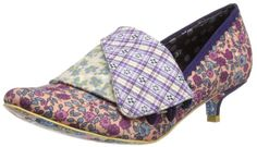d2c6e686349c Irregular Choice Womens Flick Flack Low Ditsy Duke Court Shoes 2654-76  Purple Floral 4