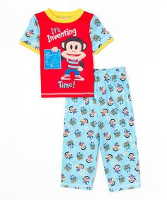 a822bb06f5 Another great find on  zulily! Blue Julius Pajama Set - Infant  amp  Toddler