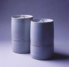 Lidded pots in two sections - Rupert Spira