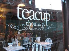 The Teacup on Thomas Street in Manchester's Northern Quarter is one of my favourite cafes.