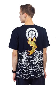 Harajuku Fish Printed Men's T-shirt sold by Moooh!!. Shop more products from Moooh!! on Storenvy, the home of independent small businesses all over the world.