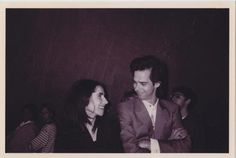 """PJ is better on her own, but Nick Cave wasn't a bad diversion"". (via OldLoves)."