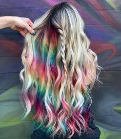 Instagram Users, Instagram Posts, Dyed Hair, Tie Dye Skirt, World, Absolutely Stunning, Fashion, Moda, Fashion Styles