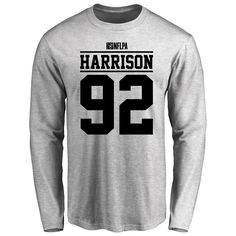 James Harrison Player Issued Long Sleeve T-Shirt - Ash - $25.95