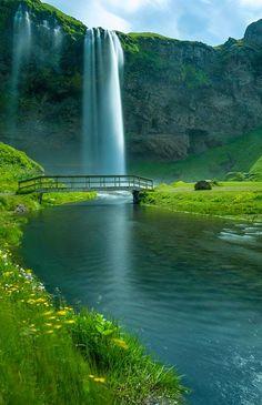 Behind a Waterfall – Seljalandsfoss, Iceland