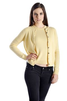 Cashmere Boutique: Quality Cashmere Sweaters and Cardigans for Women Mustard Cardigan Outfit, Cardigan Outfits, Black Cardigan, Cashmere Cardigan, Cashmere Sweaters, Cardigan Sweaters, Sweater Set, Ladies Dress Design, Cardigans For Women