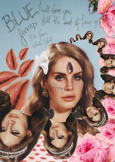 Lana Del Rey - Blue Jeans Bollywood Poster