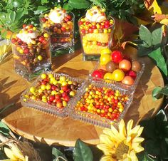 Sweetworks Autumn Trifle Food crafts for kids