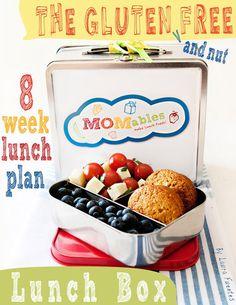 Gluten Free school lunch ideas, nut free school lunch ideas your kids will love! also on facebook: www.facebook.com/momables