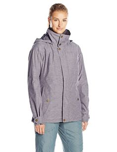 Burton Womens Jet Set Jacket Flecked Chambray Medium ** You can find more details by visiting the image link.(This is an Amazon affiliate link and I receive a commission for the sales)