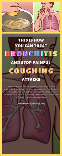 There are several natural and inexpensive ways to treat bronchitis. Bronchitis refers to an inflammation of the lining of bronchial tubes which deliver air to and from your lungs. Patients with. Cough Remedies, Home Remedies, Natural Remedies, Cough Medicine, Herbal Medicine, Bronchitis, Lunges, Herbalism, Healthy Living