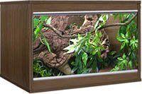Vivexotic LX24 Walnut Reptile Vivarium T...