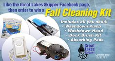 Fall Boat Cleaning Kit Give-A-Way #Boating #Contest
