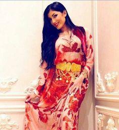 Wonderful feminine Kurdish Dress.