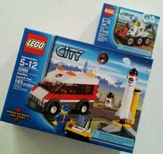 New Lego City Satellite Launch Pad 3366 Space Moon Buggy 3365 SEALED Lot | eBay....$34.95
