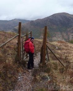 Scotland's crazy gates... slanted with no locks. We found them in the oddest places.