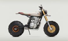 This Custom Honda XR650L Is Built Explicitly for High-Speed Adventure