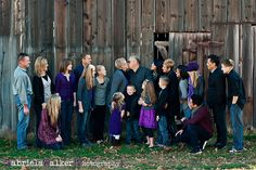 Great extended family shots