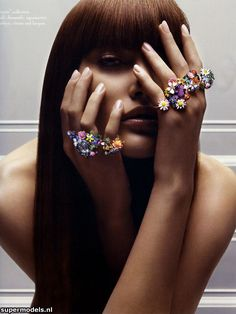 Supermodels.nl Industry News - Catherine McNeil for Dior Jewelry