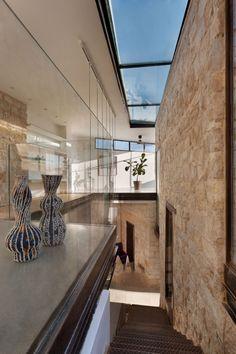 Décoration intérieure murs en pierre