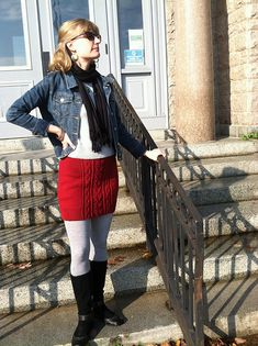 Ravelry: Valentine's Day Skirt pattern by Over the Rainbow Yarn Designs