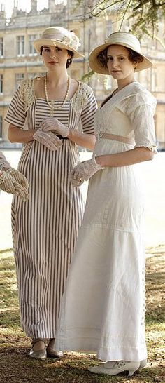 Pin for Later: The Regal Fashion in Downton Abbey Makes Us Want to Travel Back in Time