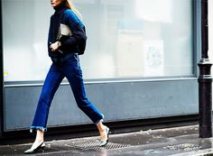 The Coolest Frayed Denim to Buy at Every Price via @WhoWhatWear