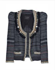 Isabel Marant's Flana Jeweled Linen Jacket